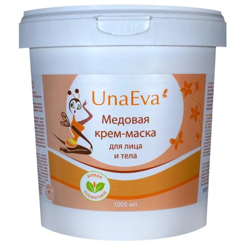 Unaeva маска медовая для обертывания для лица и тела 1000 мл