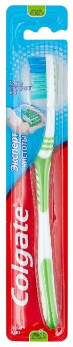 Зубная щетка Colgate Эксперт Чистоты многофункциональная, средней жесткости