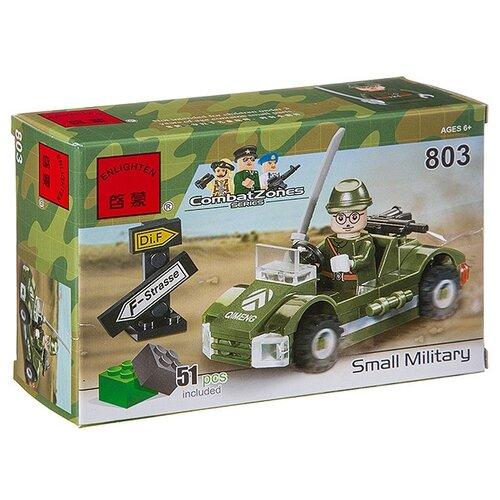 Конструктор Qman CombatZones 803 Военная машина конструктор qman combatzones 1712 военная база