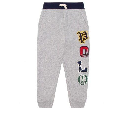 Брюки Ralph Lauren размер 122, серый меланж брюки akimbo серый 46 размер