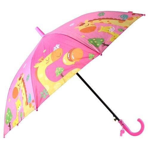 Зонт Джамбо Тойз розовый недорого