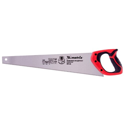 Ножовка по дереву matrix 23542 500 мм