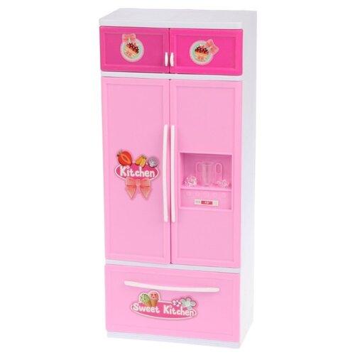 Купить Холодильник Jin Jia Tai 329-2 розовый/голубой, Детские кухни и бытовая техника