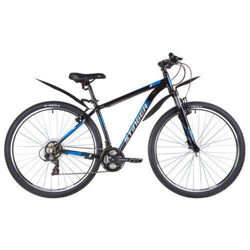 Горный (MTB) велосипед Stinger Element STD 29 (2020) с крыльями черный 18 (требует финальной сборки)