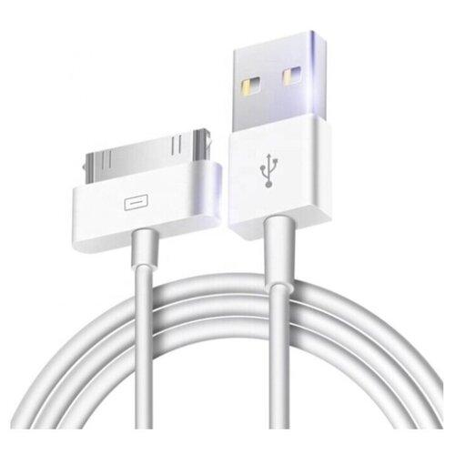 Фото - Кабель Isa USB - Apple 30 pin (115230) 3 м белый кабель isa usb apple 30 pin 115230 3 м белый