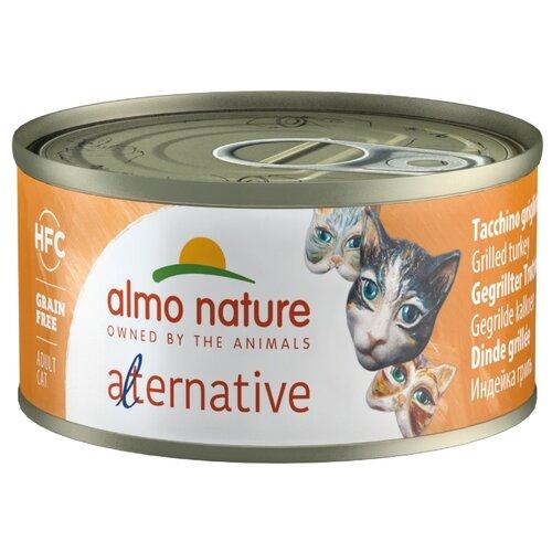 Корм для кошек Almo Nature Alternative, с индейкой 70 г