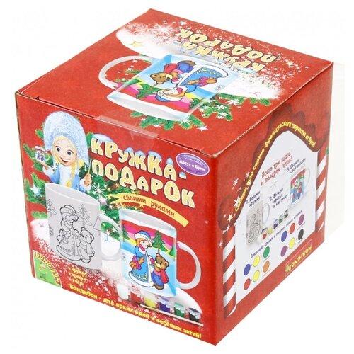 Купить BONDIBON Набор для творчества Кружка-подарок (ВВ1043), Роспись предметов