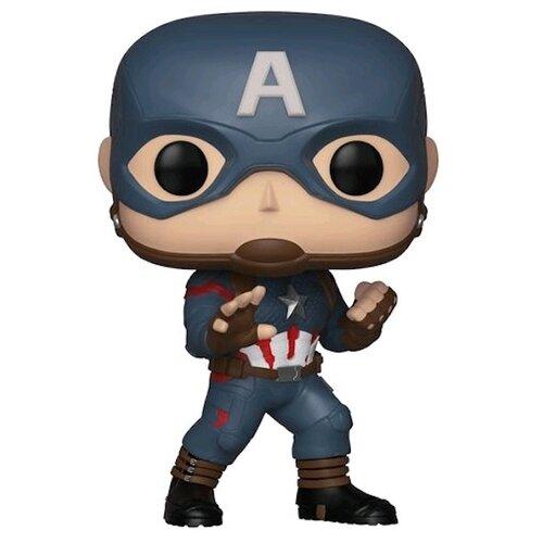 Купить Фигурка Funko POP! Marvel: Avengers Endgame - Капитан Америка 36661, Игровые наборы и фигурки