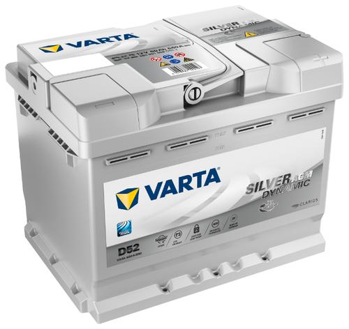 Автомобильный аккумулятор VARTA Silver Dynamic AGM D52 (560 901 068) — цены в магазинах рядом с домом на Яндекс.Маркете