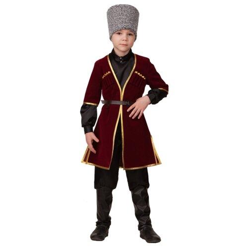 Купить Костюм Батик Кавказский мальчик (21-16), бордо, размер 116, Карнавальные костюмы