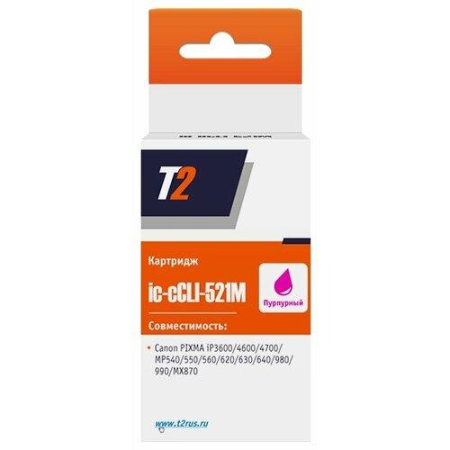 Фото - Картридж T2 IC-CCLI-521M, совместимый картридж t2 ic ccli 471m xl совместимый