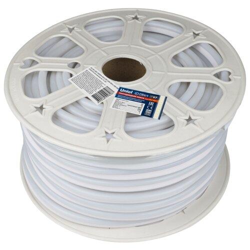 Светодиодная лента Uniel ULS-N21-2835-120LED/m-8mm-IP67-220V-8W/m-50M-WW 50 м