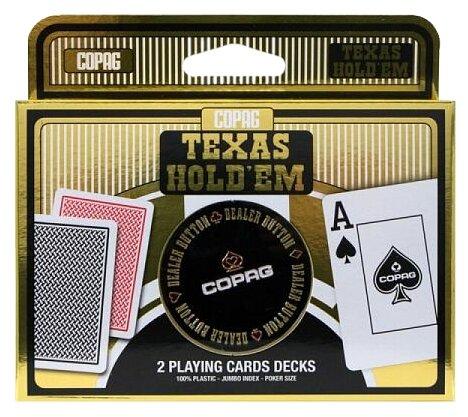 Набор для покера Copag Texas Holdem Double Metal