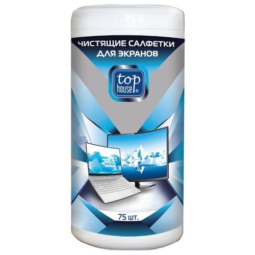 Фото - Top House 392173 влажные салфетки 75 шт. для экрана liqui moly top tec atf 1200 для акпп 5л