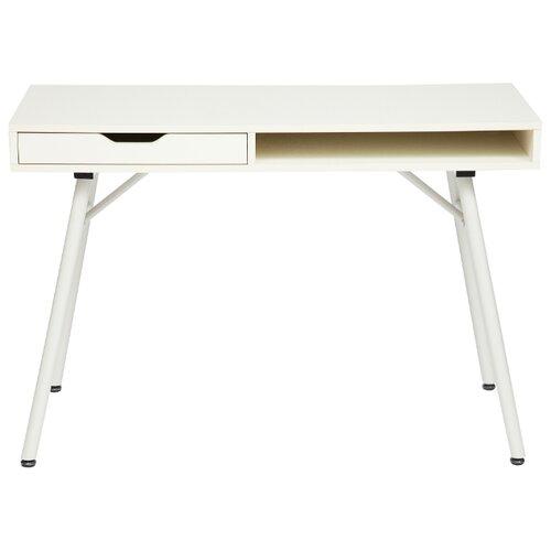 Компьютерный стол TetChair WRX-12, 110х48 см, цвет: белый