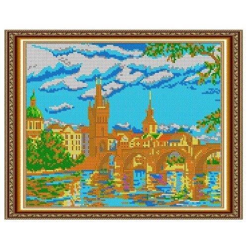 Светлица Набор для вышивания бисером Прага 30 х 24 см, бисер Чехия (587П)