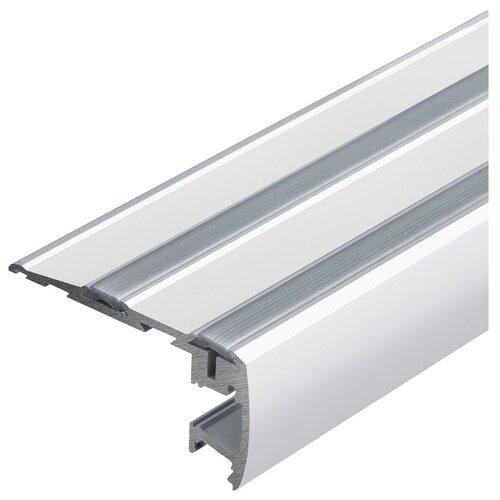 Профиль Arlight STEP-2000 серый профиль arlight alu power w35s 2000 anod frost серый