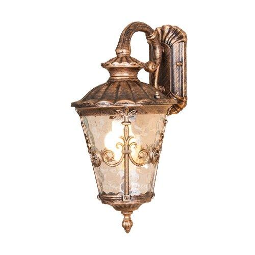 Elektrostandard Уличный настенный светильник Diadema GLYF-8046D черное золото цена 2017