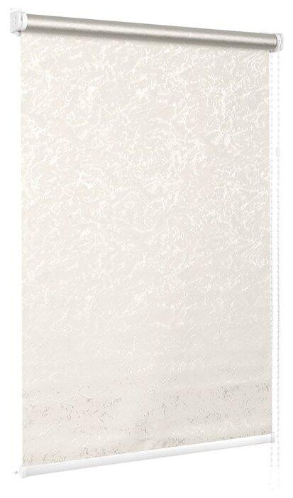 Купить Рулонная штора с направляющими струнами Sola Венеция Термо-Блэкаут белый, ширина 73 см по низкой цене с доставкой из Яндекс.Маркета (бывший Беру)