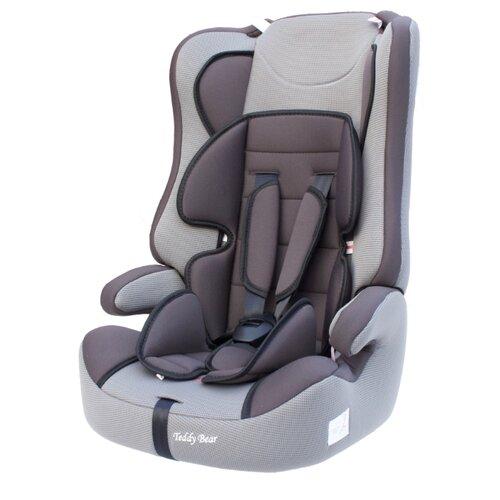 Купить Автокресло группа 1/2/3 (9-36 кг) Мишутка LB 513RF, 07 grey/grey dot, Автокресла