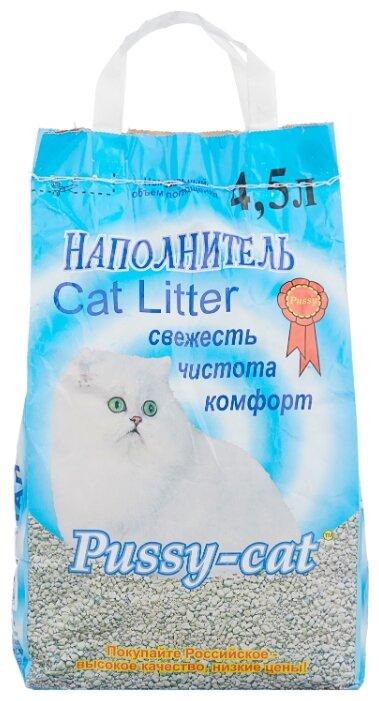 Наполнитель Pussy-Cat Цеолитовый (4,5 л)