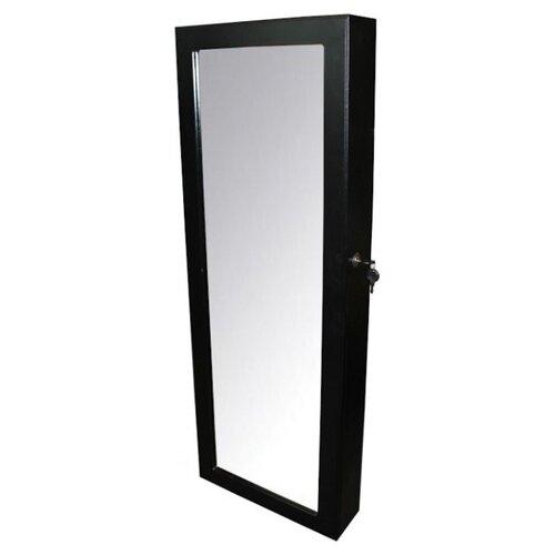 Зеркало BRADEX Тайник 36.8x101.5 см черный в раме