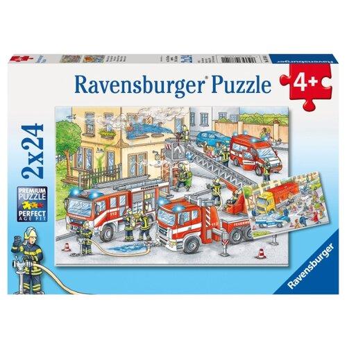 Купить Набор пазлов Ravensburger Герои в действии (R07814), Пазлы