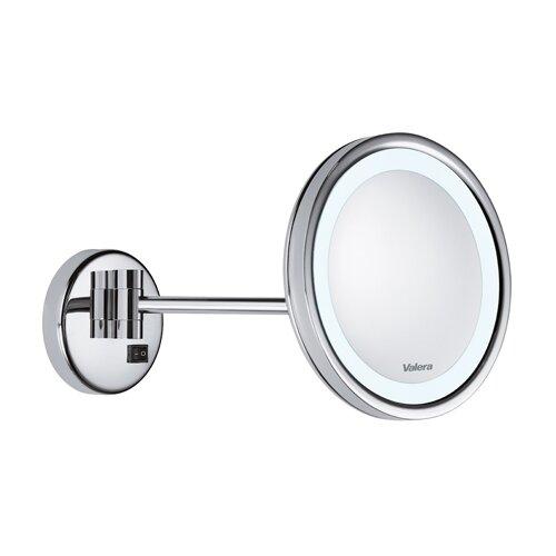 Зеркало косметическое настенное Valera 207.05 с подсветкой хром