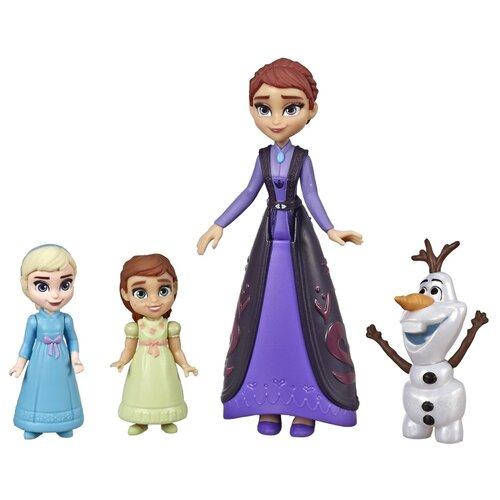 Кукла Hasbro Disney Холодное сердце 2 Делюкс Мама и дочки, E6913 набор кукол hasbro disney princess холодное сердце 2 делюкс e5504eu4