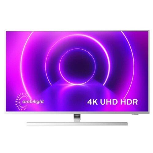 Фото - Телевизор Philips 58PUS8505 58 (2020), светло-серебристый телевизор philips 50pus6654 50 2019 серебристый металлик