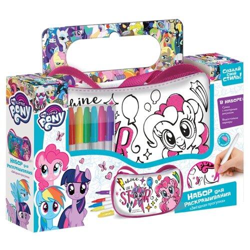 Купить Origami Набор для раскрашивания сумочки My Little Pony Звездная прогулка (4587), Роспись предметов