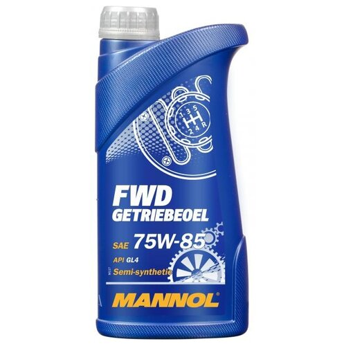 Трансмиссионное масло Mannol FWD Getriebeoel 75W-85 1 л свитшот fwd lab fwd lab mp002xw1h3u0