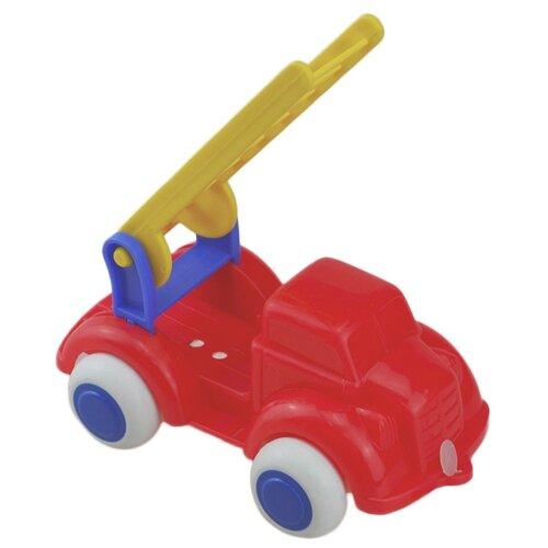 Пожарный автомобиль Viking Toys 02134 10 см красный