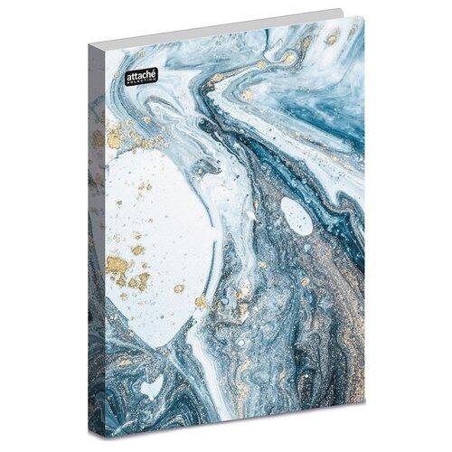 Attache Папка-скоросшиватель Fluid А4+, пластик голубой attache папка скоросшиватель fluid а4 пластик фиолетовый