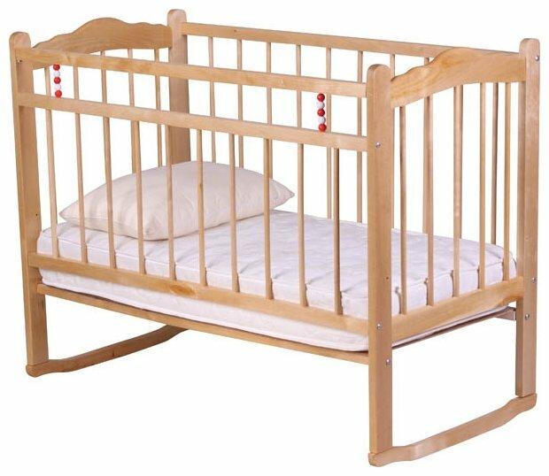 Кроватка Уренский леспромхоз Ладушка (качалка)