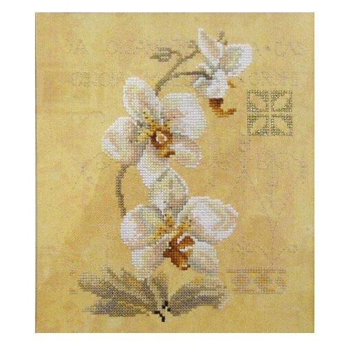 Фото - Lanarte Набор для вышивания Восточные цветы 17 x 23 см (0008008-PN) lanarte набор для вышивания индианка 39 x 49 см 0008160 pn