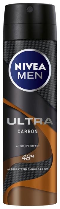 Антиперспирант спрей Nivea Men Ultra Carbon