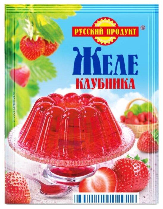 Смесь для варенья и желе Русский Продукт Клубника 50 г