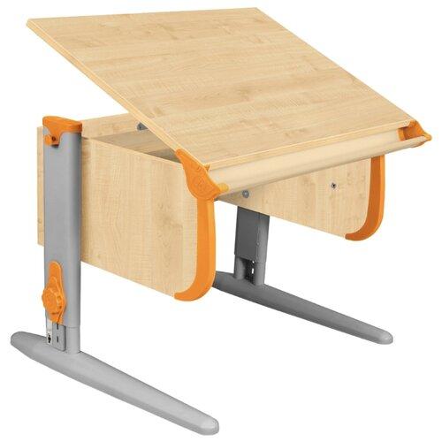 Купить Стол ДЭМИ СУТ-24 75x55 см клен/оранжевый/серый, Парты и столы