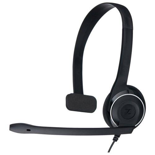 Компьютерная гарнитура Sennheiser PC 7 USB черный гарнитура sennheiser pc 36 call control usb