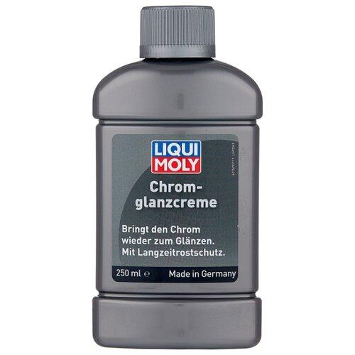 LIQUI MOLY полироль для хромированных поверхностей кузова Chrom-Glanz-Creme, 0.25 л