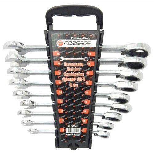 цена на Набор гаечных ключей Forsage (9 предм.) 51092R черный/серебристый