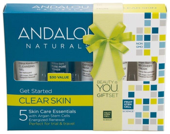 Набор Andalou Naturals Clear skin Комплексное очищение