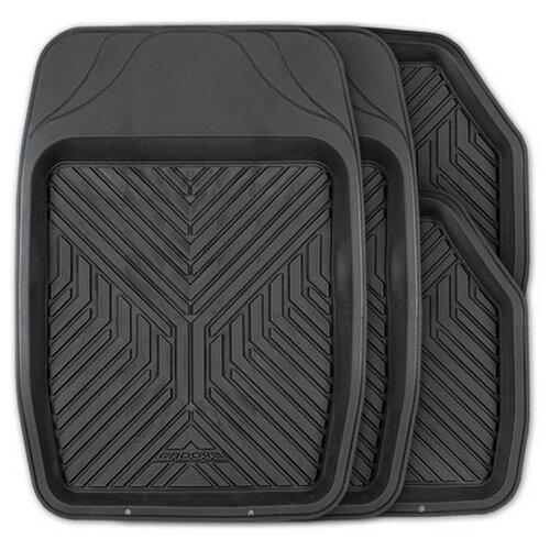 Комплект ковриков AUTOPROFI TER-150 4 шт. черный