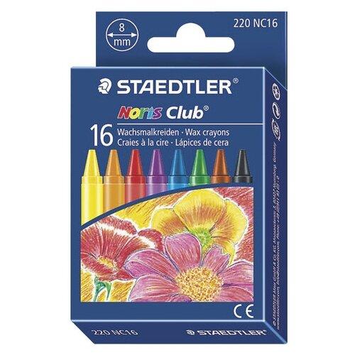 Купить Staedtler Восковые мелки Noris Club, 16 цветов, Пастель и мелки