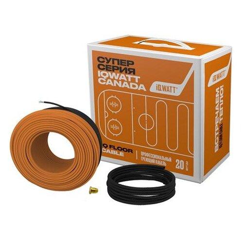 Греющий кабель IQWATT IQ FLOOR CABLE - 15 греющий кабель вилка iqwatt iq pipe cw 2 м