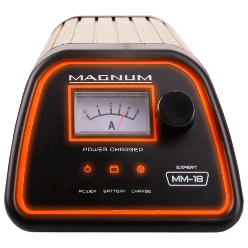 Зарядное устройство Magnum MM-18 Expert черный/серебристый