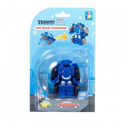 Фото - Трансформер 1 TOY Мой первый трансформер Суперкар Т16519 / Т16512 суперкар синий трансформер 1toy мой первый трансформер суперкар