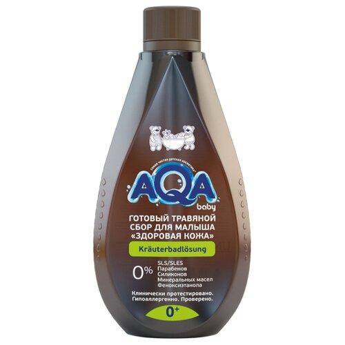 AQA baby Готовый травяной сбор для малыша Здоровая кожа 400 мл