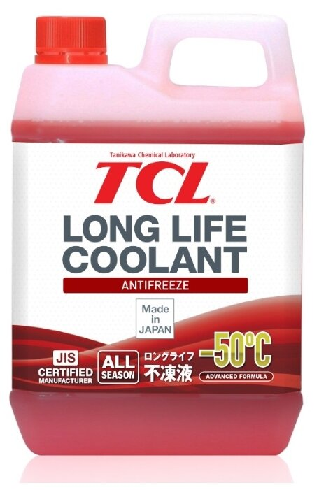 Антифриз Sintec Antifreeze Lux G12 Готовый - 40с Красный, 5 Кг SINTEC арт. 614500